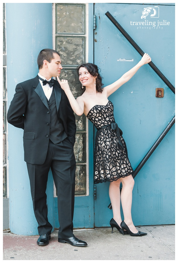 NYC Engagement Couple Portraits